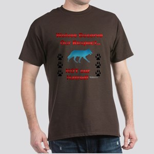Respect Wolves Dark T-Shirt