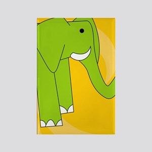 Elephant iPhone 3g Rectangle Magnet