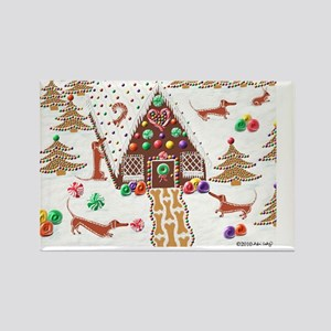 GingerbreadPoster Rectangle Magnet