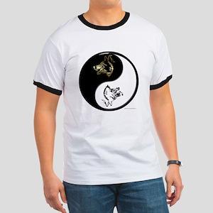 Wolves Yin Yang T-Shirt