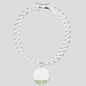 livepossum2 Charm Bracelet, One Charm