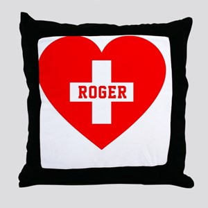 Roger Blanket 1 Throw Pillow
