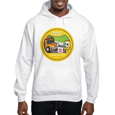 think safety copy Hooded Sweatshirt