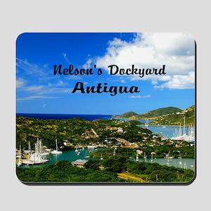 Nelsons Dockyard Antigua18x12 Mousepad