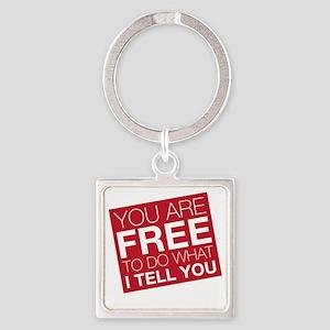 freetodo Square Keychain