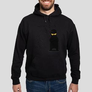 ninja warning Hoodie (dark)