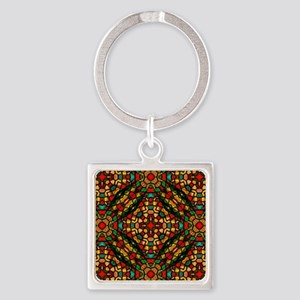 kaleido art stained glass Keychains