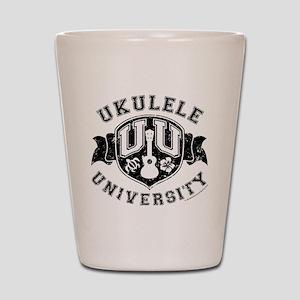 Ukulele University Shot Glass
