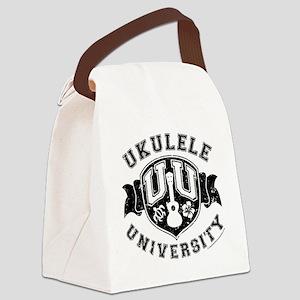 Ukulele University Canvas Lunch Bag