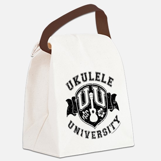 Ukulele University Canvas Lunch Bag