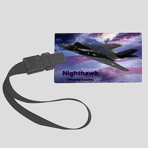 nighthawk Large Luggage Tag