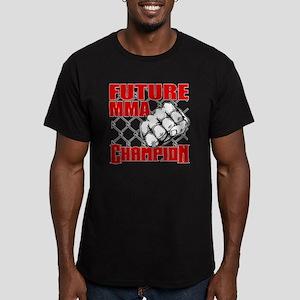FutureMMA_02 Men's Fitted T-Shirt (dark)