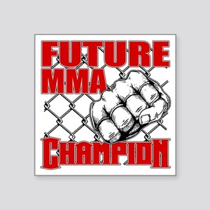 "FutureMMA_02 Square Sticker 3"" x 3"""