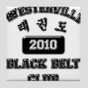 WTKD 2010 Black Belt Club Tile Coaster