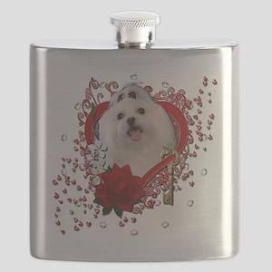 Valentine_Red_Rose_Maltese Flask