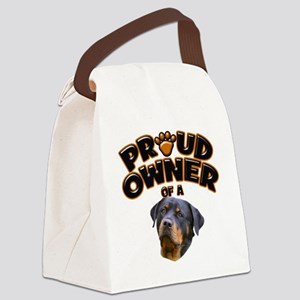 Proud Owner of a Rottweiler 2 Canvas Lunch Bag
