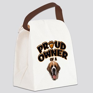 Proud Owner of a St Bernard Canvas Lunch Bag