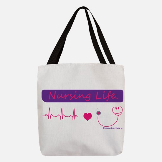 Unique Nurse Polyester Tote Bag