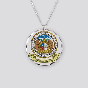Missouri Seal Necklace Circle Charm