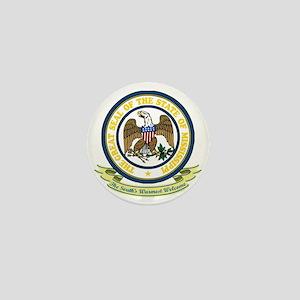 Mississippi Seal Mini Button