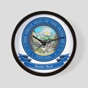 Nevada Seal Wall Clock