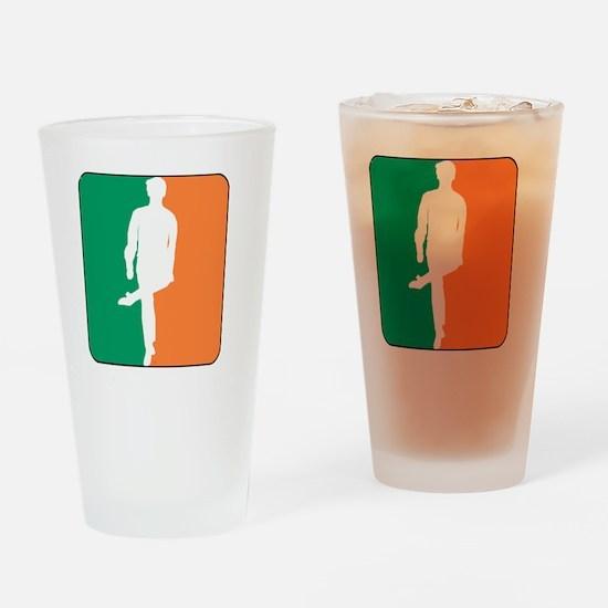 ID TriColor Boy DARK 10x10_apparel Drinking Glass
