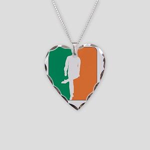 ID TriColor Boy DARK 10x10_ap Necklace Heart Charm