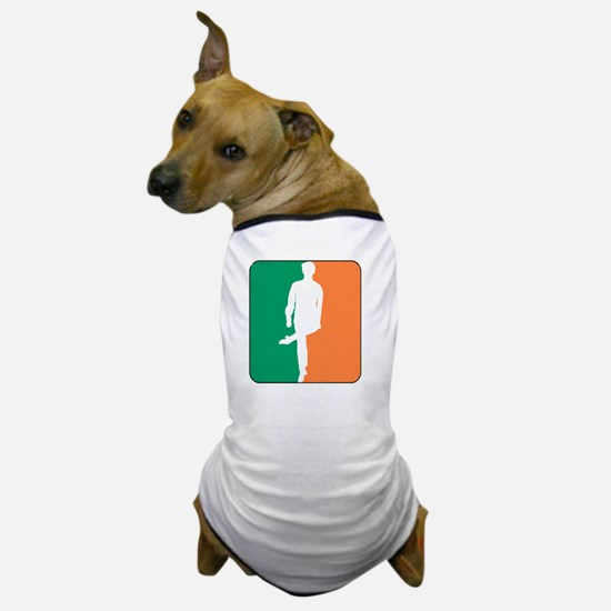 ID TriColor Boy DARK 10x10_apparel Dog T-Shirt