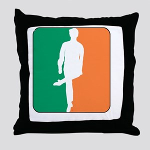 ID TriColor Boy DARK 10x10_apparel Throw Pillow