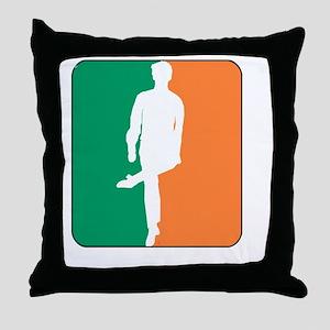 ID TriColor Boy DARK 10x10_apparel Throw Pillow