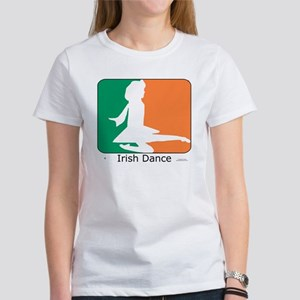 ID TriColor Girl 10x10_apparel Women's T-Shirt