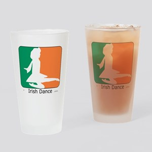ID TriColor Girl 10x10_apparel Drinking Glass