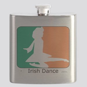 ID TriColor Girl 10x10_apparel Flask