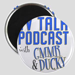 podcast stadium blanket Magnet