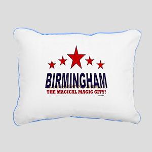 Birmingham The Magical City Rectangular Canvas Pil