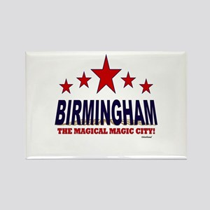 Birmingham The Magical City Rectangle Magnet