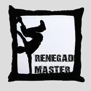 Renegade Master Throw Pillow