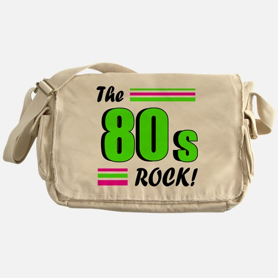 the 80s rock 2 Messenger Bag