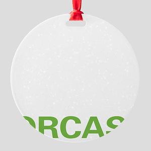 liveorca2 Round Ornament