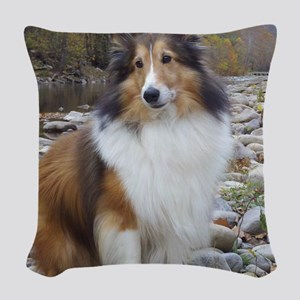caleb creek Woven Throw Pillow