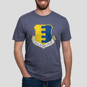 USAF 28th Bomb Wing Mens Tri-blend T-Shirt