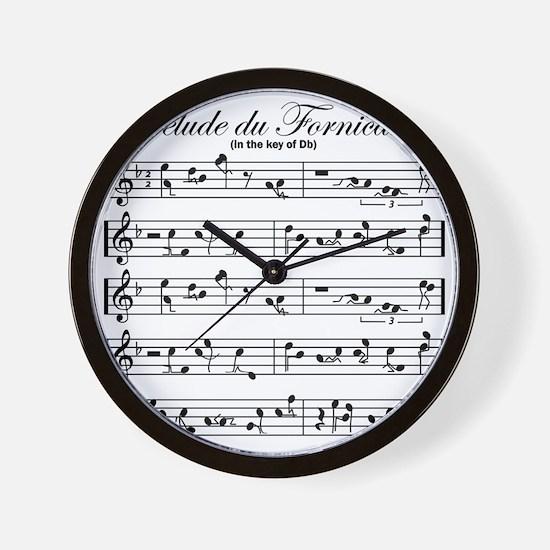 prelude Wall Clock