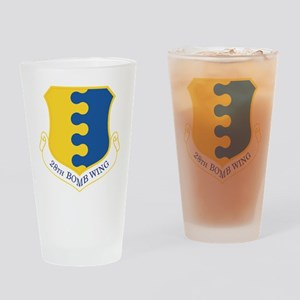 USAF 28th Bomb Wing Drinking Glass