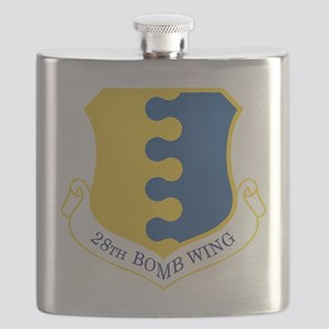 USAF 28th Bomb Wing Flask