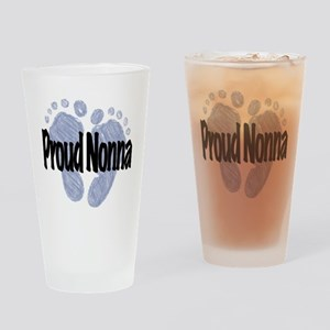 Proud Nonna (Boy) Drinking Glass