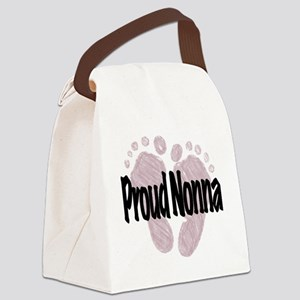 Proud Nonna (Girl) Canvas Lunch Bag