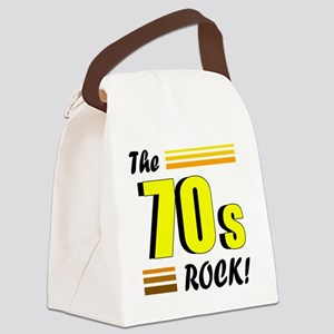 the 70s rock 2 Canvas Lunch Bag