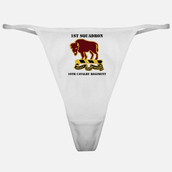 1-1O CAV RGT WITH TEXT Classic Thong