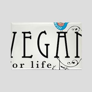 vegan-border2 Rectangle Magnet