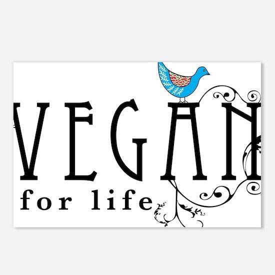 vegan-border2 Postcards (Package of 8)